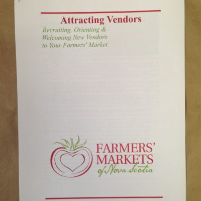 Attracting vendors