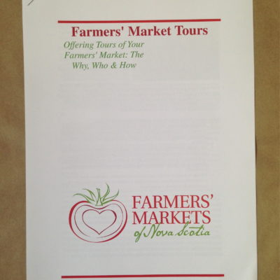 Famers markets tours