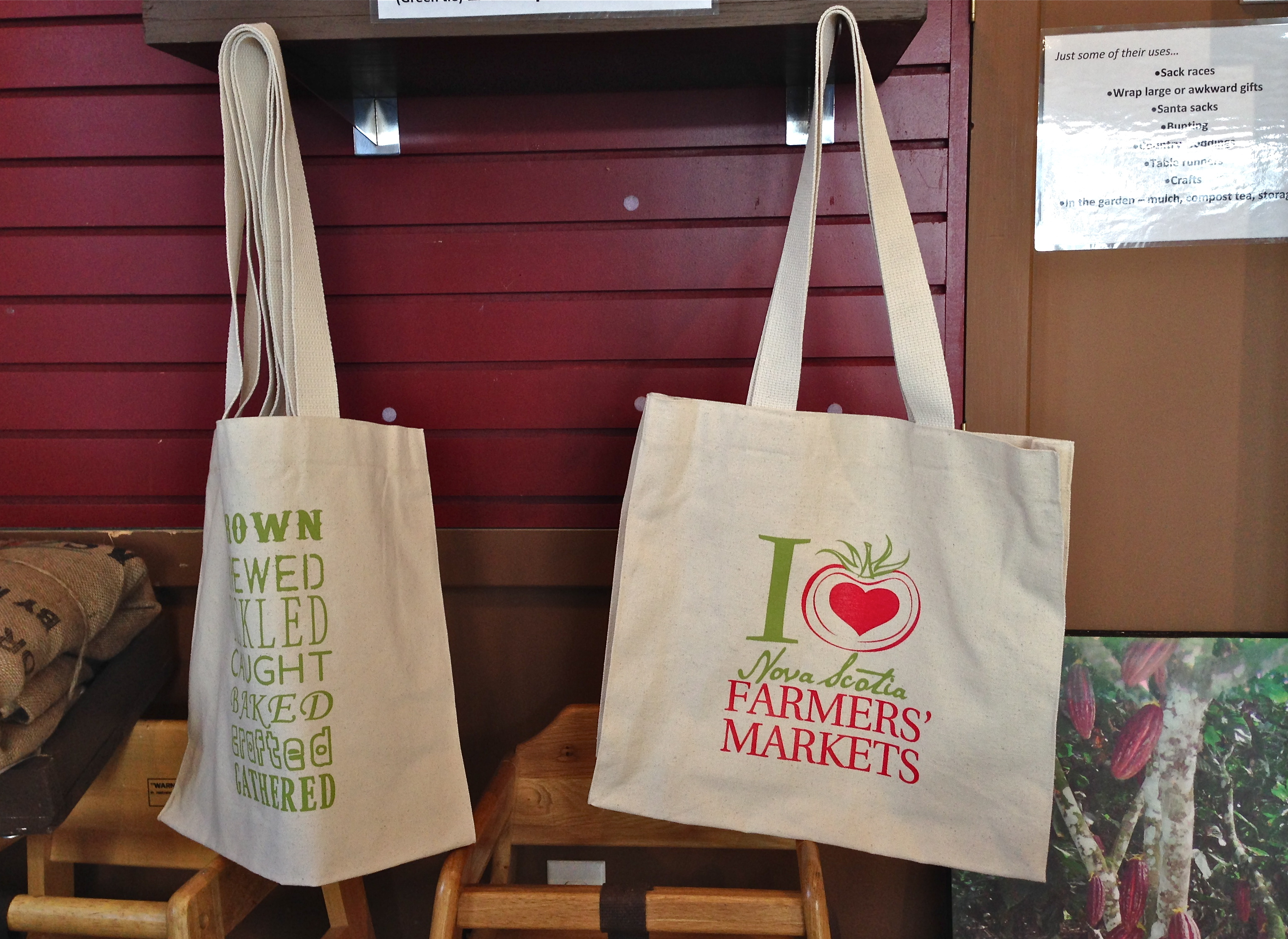 Purchase FMNS Canvas Bags at Just Us! Coffee House | Farmers ...