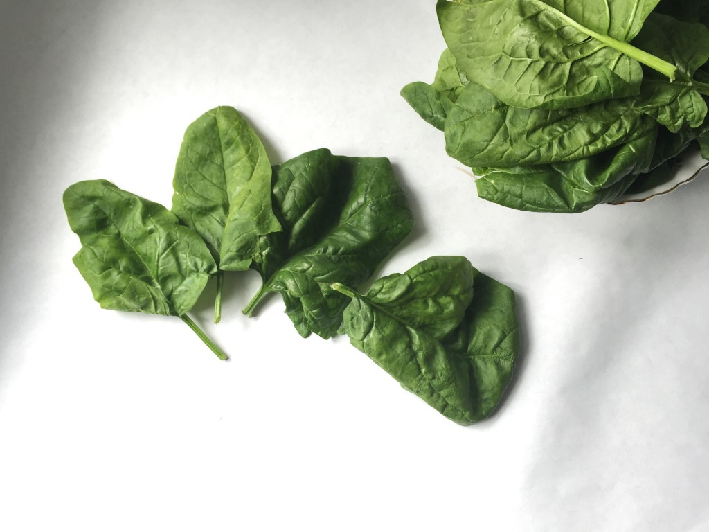 more spinach
