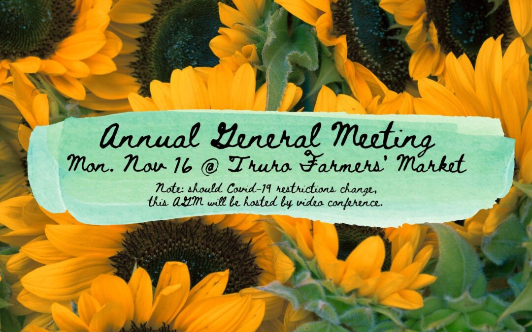 Save the Date! FMNS AGM – November 16, 2020