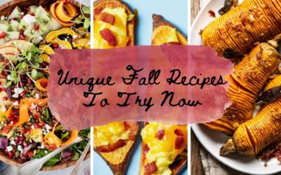 7 Unique Fall Recipes To Try Now