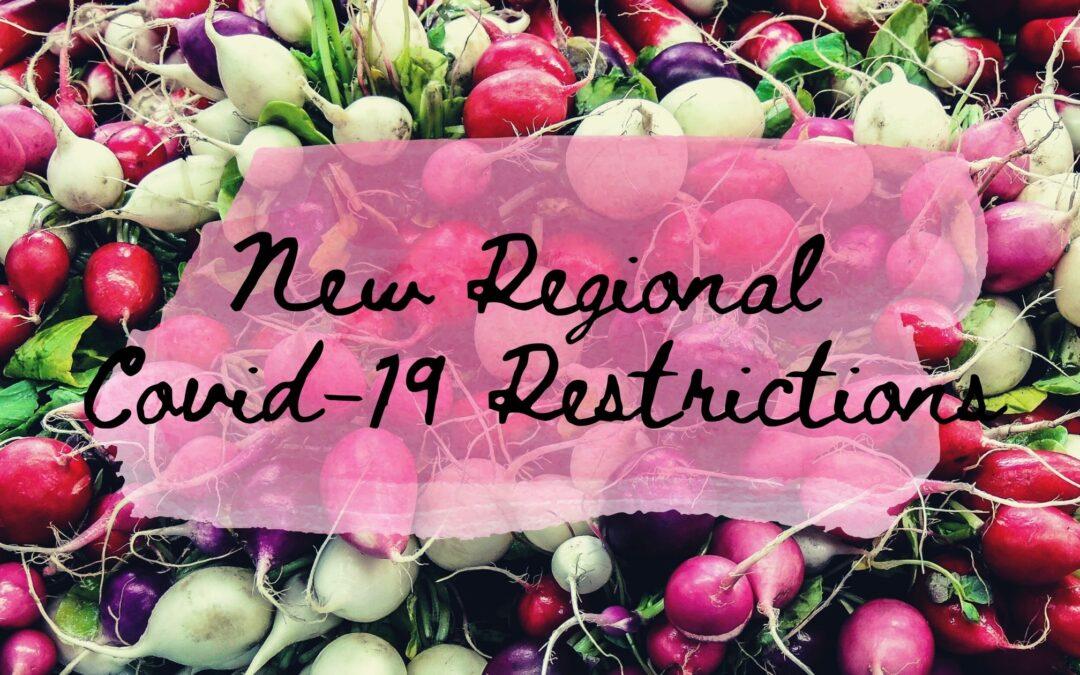 December 17, 2020   FMNS statement regarding new regional restrictions (no longer in effect)
