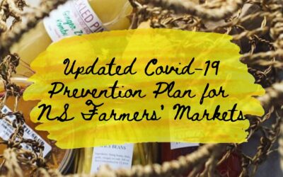 December 17, 2020 | Updated COVID-19 Prevention Plan for Nova Scotia's Farmers' Market Sector
