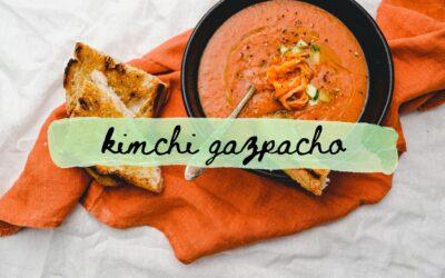Kimchi Gazpacho